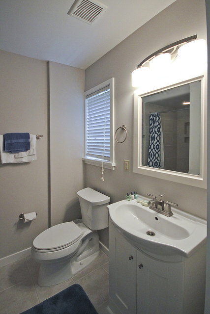 Budget smaller bathroom remodeling experts in sydney 02 for Small bath renovation pictures