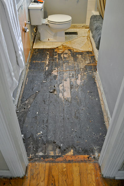 Diy bathroom renovation ideas perfect for your budget for Diy flooring ideas on a budget
